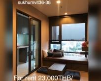 For Rent or Sale Rhythm Sukhumvit 36 - 38 room-33 sqm 18 th floor