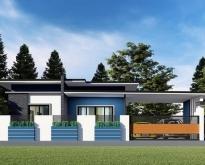 ขายบ้านใหม่ ไสตล์ฝรั่งในตัวเมืองหนองคาย