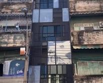 ให้เช่าอาคารพาณิชย์ พึ่งรีโนเวทใหม่อยู่ติดริมถนน