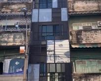 ให้เช่าอาคาร 5ชั้น 300ตรม. ใกล้ MRT วัดมังกร 150ม.