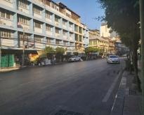 ตึกแถว 2.5 ชั้น ให้เช่า ถนนเยาวราช ใกล้ตลาดสำเพ็ง