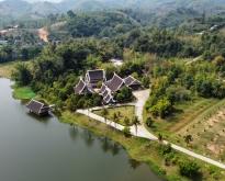 ขายบ้านทรงไทยประยุกต์บนที่ดินกว่า300 ไร่