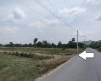 ขายที่ดินติดถนนลาดยางใกล้ตัวเมืองกาญจนบุรี