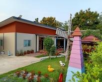 ขายบ้านพร้อมที่ดิน เนื้อที่ 160 ตารางวา  3 ห้องนอน 3 ห้องน้ำ มีพื้นที่