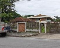 ขายบ้านเดี่ยวติดถนนเมนโครงการนวธานีเสรีไทย59