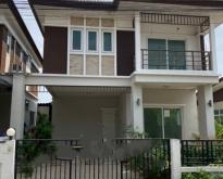 ขายบ้านแฝด :    หมู่บ้านเติมรัก 5 นนทบุรี